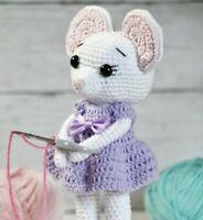 PDF Amigurumu crochet mouse pattern