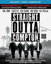 Straight Outta Compton (Blu-ray/DVD, 2016, 2-Disc Set, Canadian)