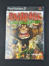 Rampage: Total Destruction (PlayStation 2 PS2, 2006) Complete - Tested