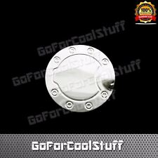 For 2004-2008 Ford F-150 Stainless steel gas Tank Fuel Door Cap Chrome Covers