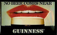GUINNESS NO BEER Vintage Metal Pub Sign | 3D Embossed Steel | Home Bar | Irish