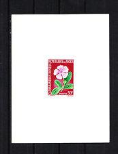 épreuve de luxe  Niger  1964/65  fleur  catharanthus roseus   50f  num: 142