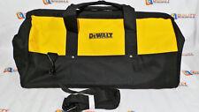 """New DeWalt 24"""" Heavy Duty Canvas Contractors Tool Bag w/ Shoulder Strap L@@K"""