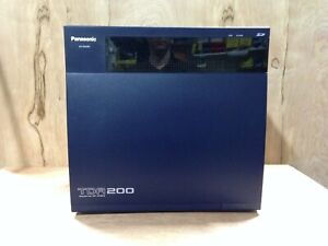 Panasonic KX-TDA200 with MPR Card Software Version 5.0100 Registered Unit