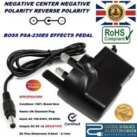 BOSS PSA-230ES EFFECTS PEDAL POWER SUPPLY REPLACEMENT ADAPTER 9V PSA230ES MAINS