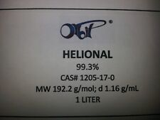 HELIONAL (1.2 Kg, 1+ LITER) Floral Aroma Fragrance (CAS#1205-17-0) Limited Stock