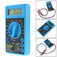 Digital LCD Multimeter AC/DC 750/1000V Voltmeter Battery Tester Ohmmeter Ammeter