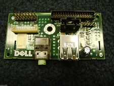 Dell Front I/O USB Audio Jack Panel Board 0M686 from Dell Optiplex GX260 GX270