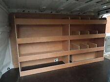 Ford Transit Custom LWB Off Side Compartment Plywood Racking,Shelving, Racks