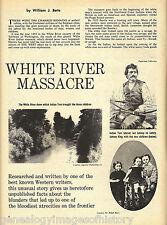White River Massacre, Washington Territory + Genealogy