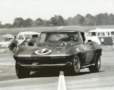 Vintage 8 X 10 1964 Daytona Nickey Corvette & Triumph TR3 Auto Racing Photo
