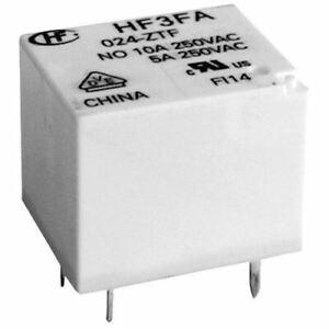 HF3FA-012-ZSTF ZST ZTF a conversion 5-pin 10A -PCB Mount Relay - 12V UK Seller