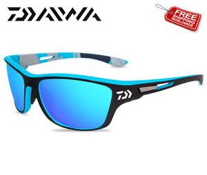 Daiwa Polarisierte Sonnenbrille UV400 Kurs See Fischen Karpfen Hecht Barsch