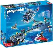 PLAYMOBIL 9043 City Action Police SWAT Mega 5 Vehicle Play Set - Boxed