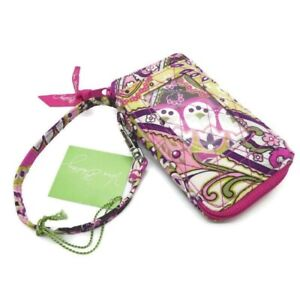 NWT Vera Bradley Very Berry Paisley All in One Wristlet 10489-063 Pink Floral