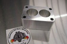 Fits Tri Power Spacer Small Rochester 2G Carb Riser Stromberg WW Carter 2""