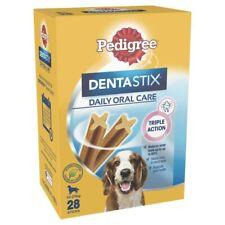 Pedigree Dentastix Medium Dog Treats Daily Oral Care Dental Chews 28 pack