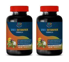 milk thistle extract - LIVER DETOXIFIER FORMULA - healthy gut pills 2B