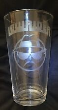 LOWRIDER/ LOWRIDER MAN SYMBOL ETCHED  16oz PINT GLASS