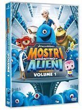 MOSTRI CONTRO ALIENI - VOLUME 1 - SERIE TV (DVD) NUOVO, ITALIANO, ORIGINALE