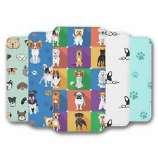 For iPhone 5C Flip Case Cover Dogs Collection 13