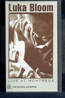 #VV4.  MUSIC VHS VIDEO TAPE - LUKA BLOOM LIVE AT MONTREUX