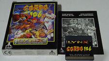 Atari Lynx Gordo 106 Boxed with Manual