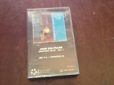 """Jazz Cassette: John Coltrane """"Abstract Blue Vol.1"""" play tested EX"""