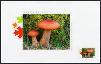 BROWN MUSHROOMS = TOP SOUVENIR CARD = Picture Postage MNH Canada 2019 [p19-05t04