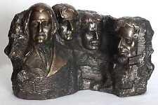 usa,mount rushmore,figur,30x18cm,skulptur,bronziert,präsident,national memorial