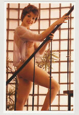 Postcard Pinup Risque Nude Stunning Girl Extremely Rare Photo Post Card 6673
