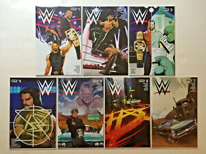 WWE 1-25 BOOM STUDIOS COMPLETE FULL RUN SERIES HOPELESS 2017 THEN NOW FOREVER