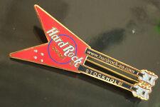HRC Hard Rock Cafe Stockholm Flying V Doubleneck