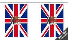 Union Jack Crest (UK) National Bunting 3 metre, 10 flags