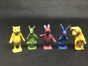 Pixyland Kew, Winnie The Pooh Race Game Figures  (lime Green 571)