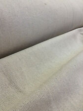 Grain Sack Fabric By-The-Yard - Cream No Stripe