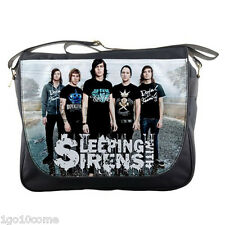 Sleeping With Sirens Men Women Messenger School Bag Shoulder Laptops Travel Bags