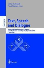 Lecture Notes in Computer Science: Text, Speech and Dialogue : 6th...