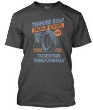 Bruce Springsteen Inspired Thunder Road Men's T-shirt Large Charcoal