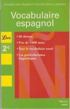 Manuels scolaires et d'éducation espagnols en poche