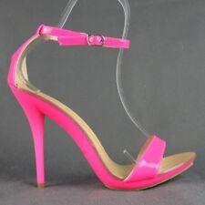 Sexy High Heels Sandaletten in leuchtenden Farben Neon