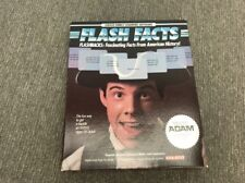 Coleco Flash Facts Vocabulator For Adam Computer Software Cassette NIB Unopened