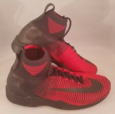 Nike Zoom Mercurial XI FK FC Flyknit Soccer Shoes Size 10.5 Red Black $200