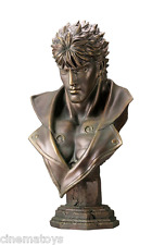 Fist of North Star Kenshiro Life Size Bust Bronze Color Kaiyodo Hokuto no Ken