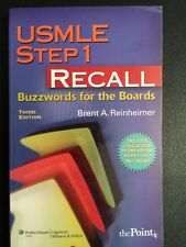 USMLE Step 1 Recall Buzzwords BRAND NEW Free Shipping!