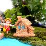 Adorable Fairy Garden Miniature Stone House Random Craft Micro Landscape Decor