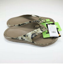 Crocs Men Swiftwater Veil Whitetail Wave Flip Camo Size 10 NEW
