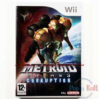 Jeu Metroid Prime 3 : Corruption [VF] sur Nintendo Wii NEUF sous Blister