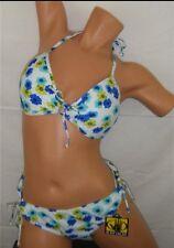 BODY GLOVE Bikini BABY LOVE PUSH UP TOP & BOTTOMS Sz L Large NEW