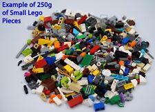 LEGO - 400+ Mixed Pieces of SMALL Bricks Plates Parts Studs - LEGO 250g Bundle